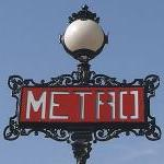 P1 - Paris Metro Wall Decal