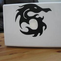 Dragon Vinyl Laptop Decal